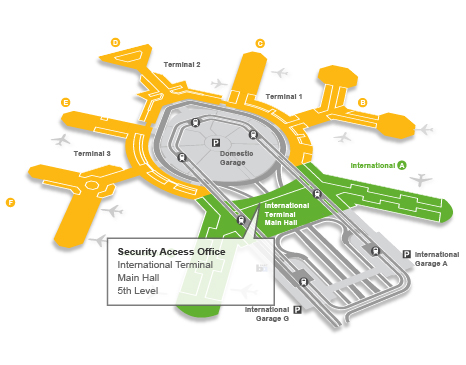 Security Access Office Map